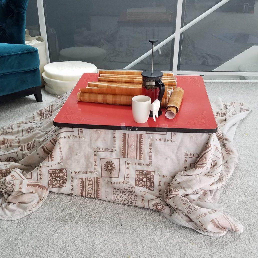 kotatsu before a makeover